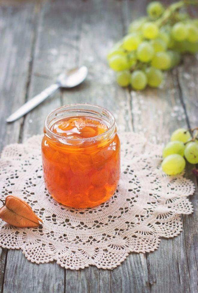 Confiture de raisins blancs