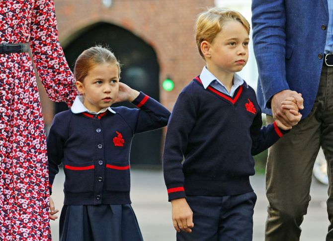 ¿Cómo es el regreso al colegio de los jóvenes 'royals'?