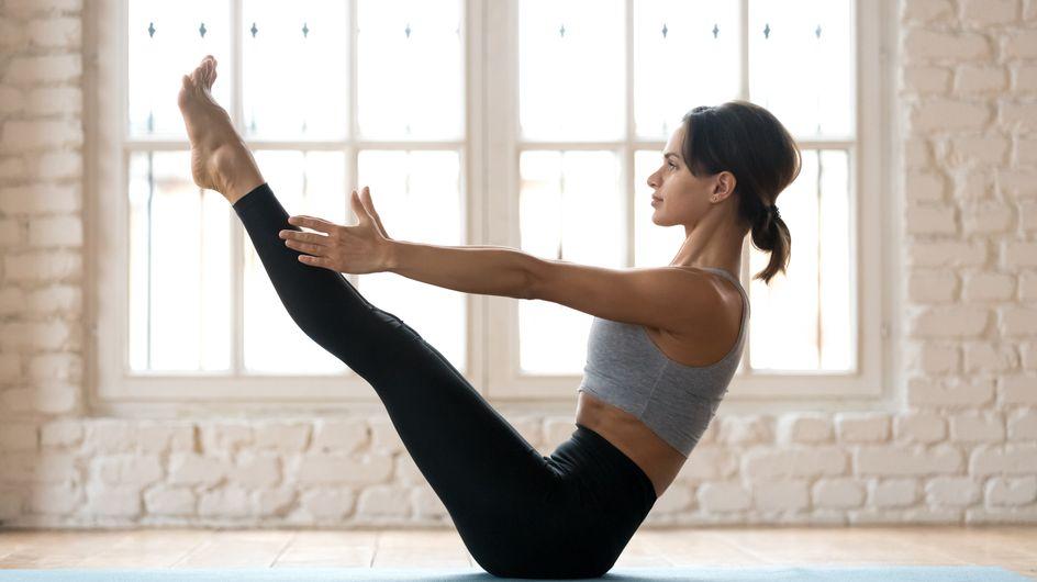 Vientre plano: posturas de yoga para fortalecer el abdomen