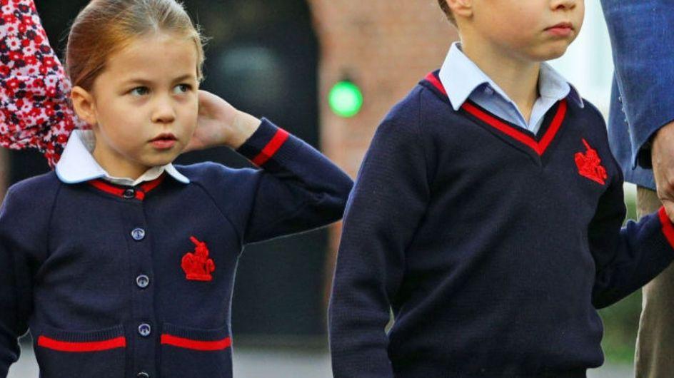 La principessa Charlotte ha iniziato la scuola: il primo giorno di scuola dei reali!