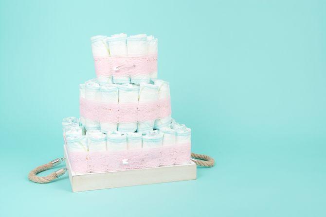 Quel gâteau de couche pour préparer une naissance ?