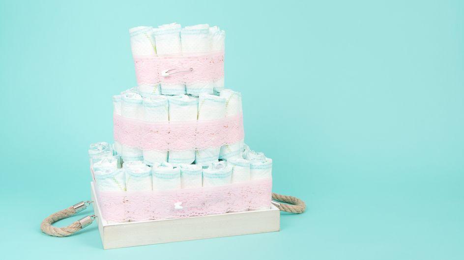 40 gâteaux de couches originaux pour fêter une grossesse