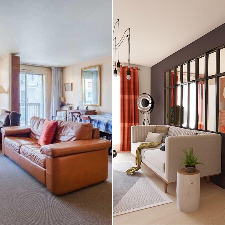 Photo Deco Avant Apres avant/après : transformation d'une pièce : album photo