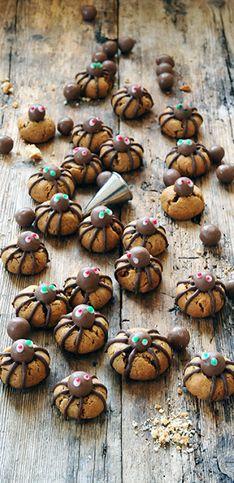 10 recettes d'araignées pour Halloween repérées sur Pinterest