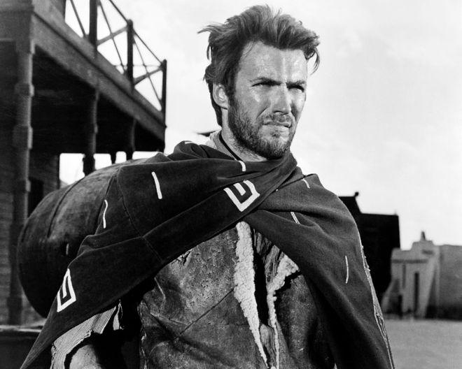Due gocce d'acqua: Clint Eastwood
