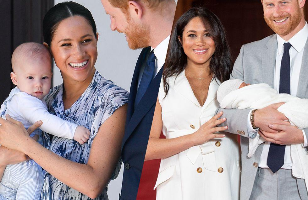 Les premières photos du petit Archie, le bébé de Meghan Markle et du prince Harry