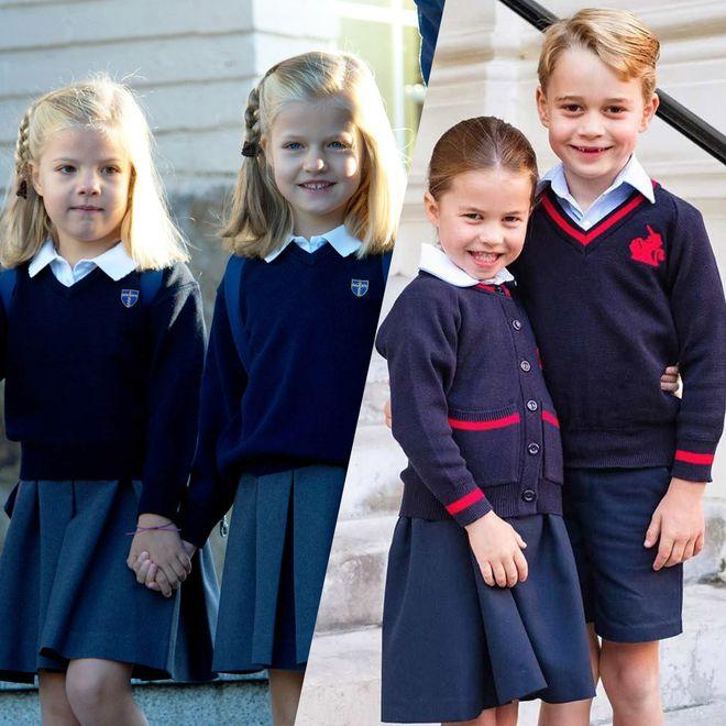 Zurück in die Schule: Die Royal-Kinder an ihrem ersten Schultag