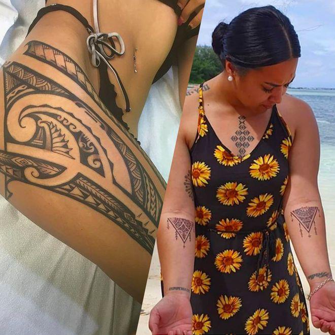 20 photos qui prouvent que le tatouage polynésien n'est pas mort