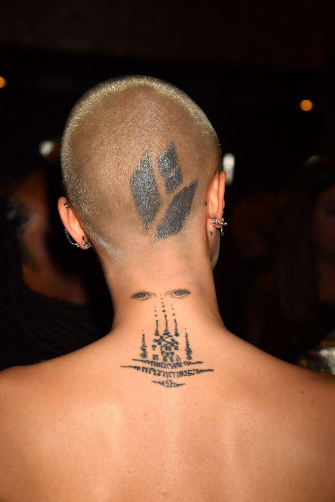 ¿A qué famosa pertenece este tatuaje?