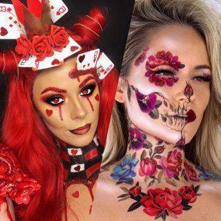 Ou Acheter Maquillage Halloween.Maquillage Des Yeux Pour Halloween 60 Idees Pour Un Regard Magnetique