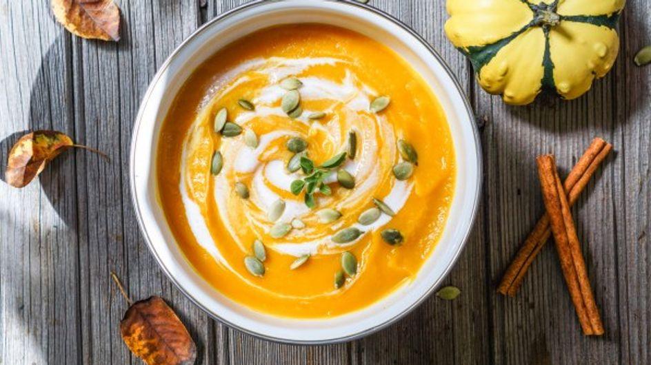 Nos recettes de soupes cocooning pour l'automne