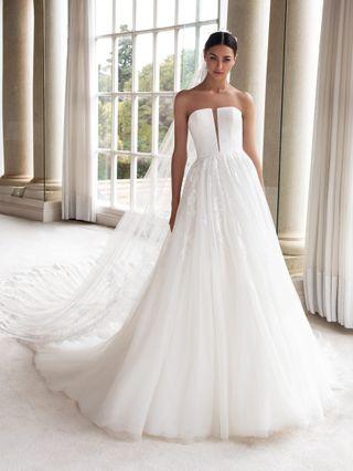 Robe de mariée bustier : 40 modèles à tomber
