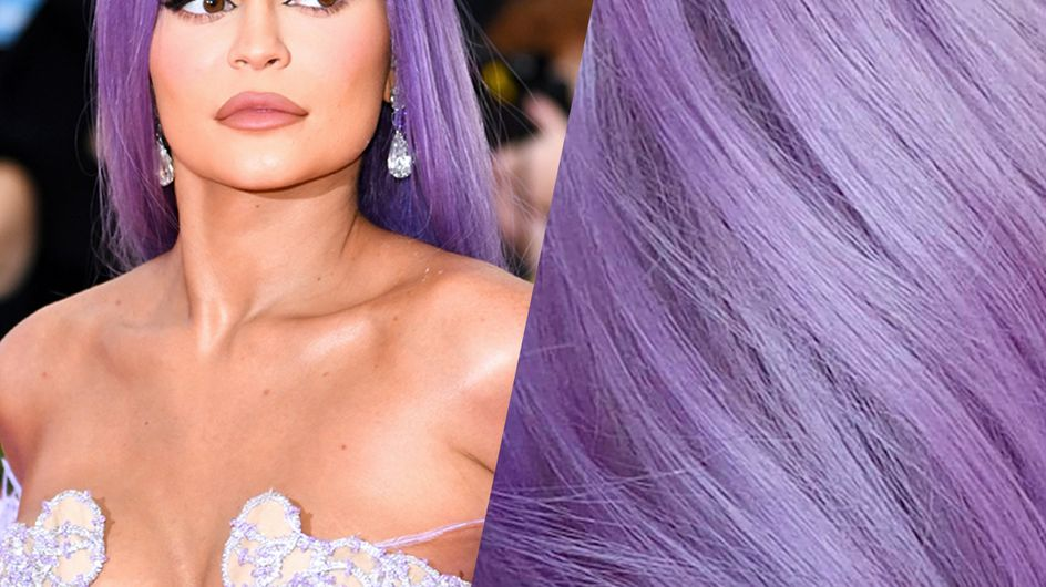 Ces photos qui prouvent que le violet est la coloration la plus tendance du moment