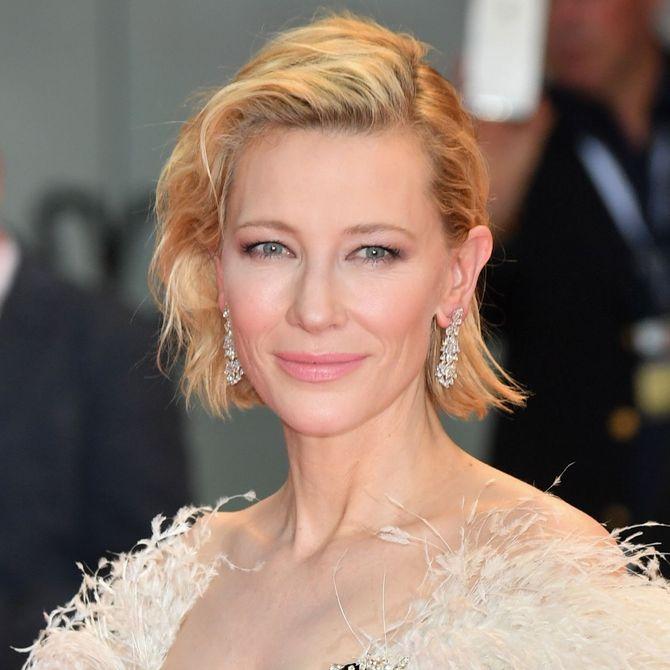 Le acconciature che ti valorizzano: Cate Blanchett