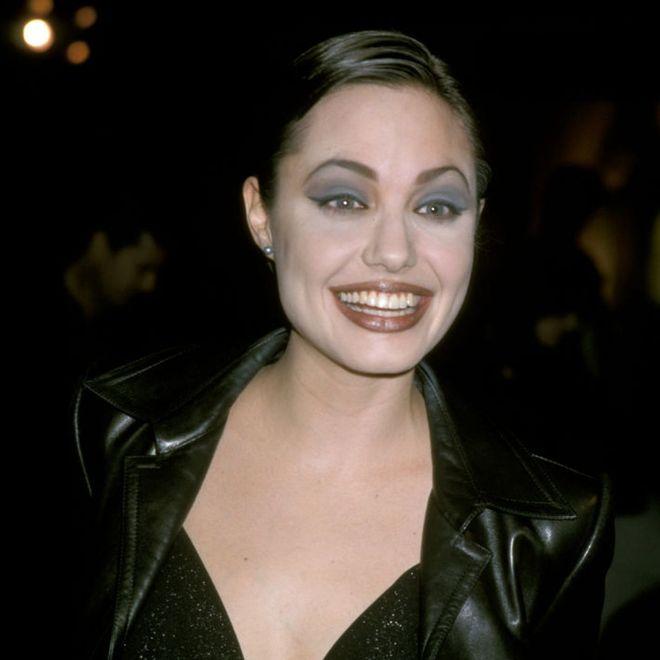 Esordio in passerella: Angelina Jolie
