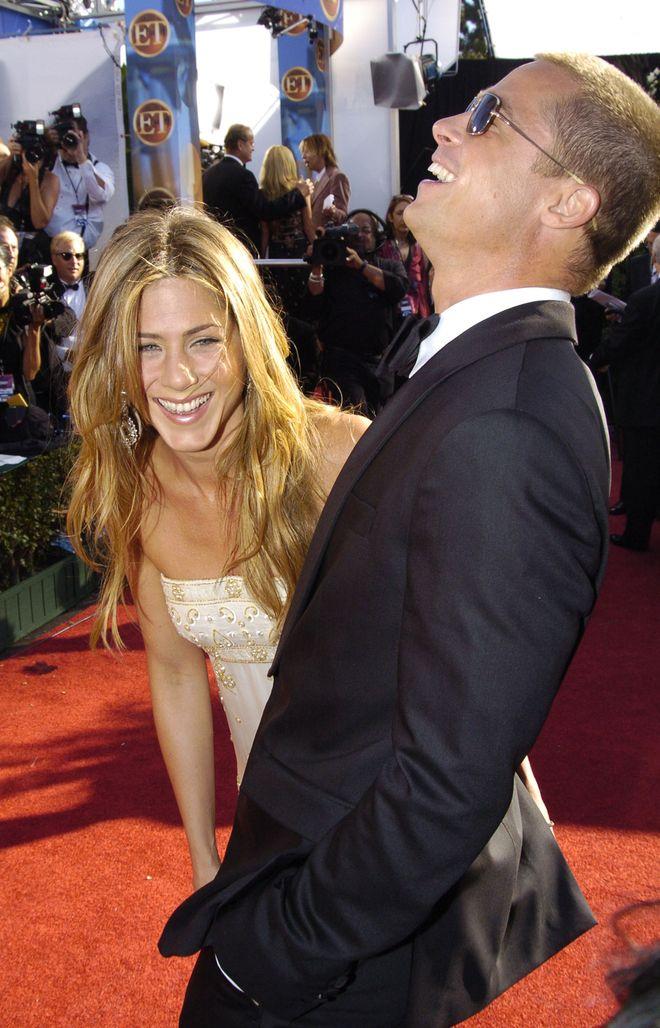 Jennifer Aniston y su eterno amor... Brad Pitt