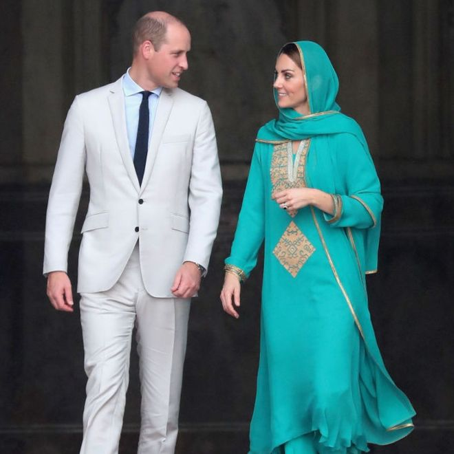 I duchi di Cambridge in Pakistan