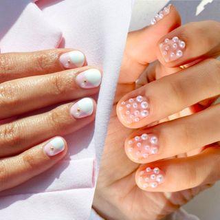 Pearl nail art, la manucure la plus élégante du moment