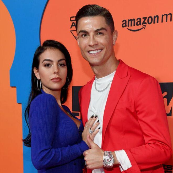 I look delle star agli MTV EMA 2019: Cristiano Ronaldo e Georgina Rodriguez