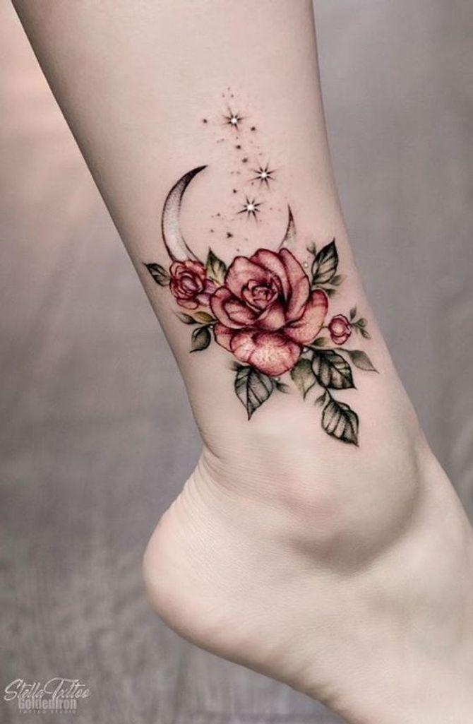 Tatuajes con rosas: ideas y significados