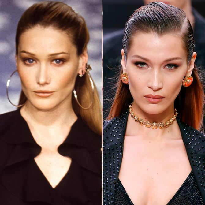 Carla Bruni Vs Bella Hadid