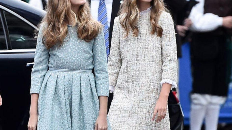 I look delle principesse Leonor e Sofia di Spagna