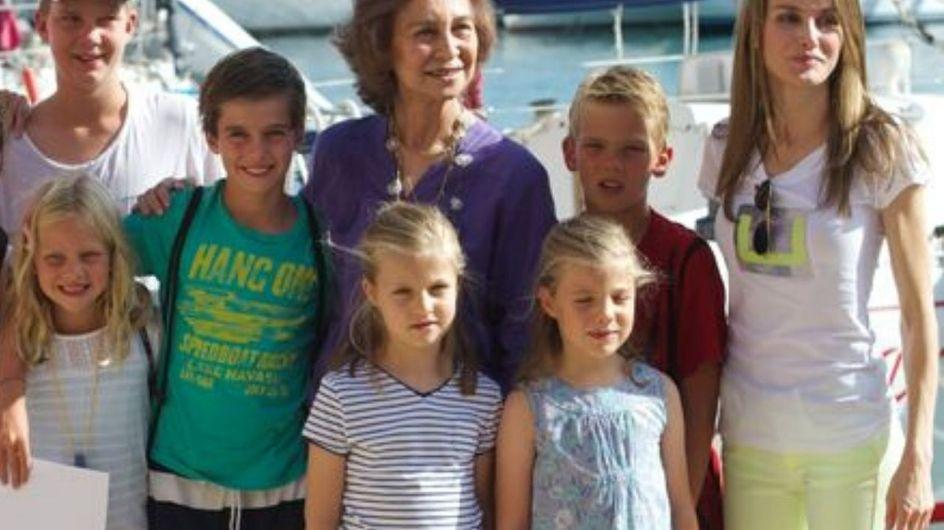 I bambini della Famiglia Reale spagnola: ecco quanto sono cresciuti!