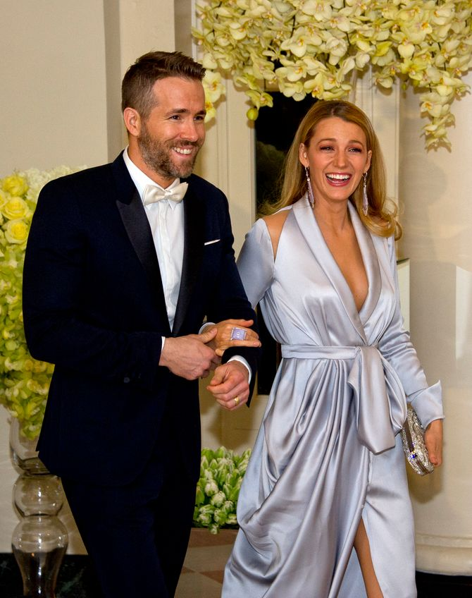 Ryan Reynolds se enamordó de Blake Lively...