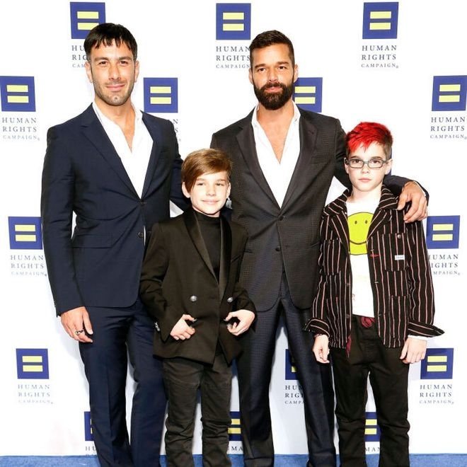 Le famiglie vip arcobaleno