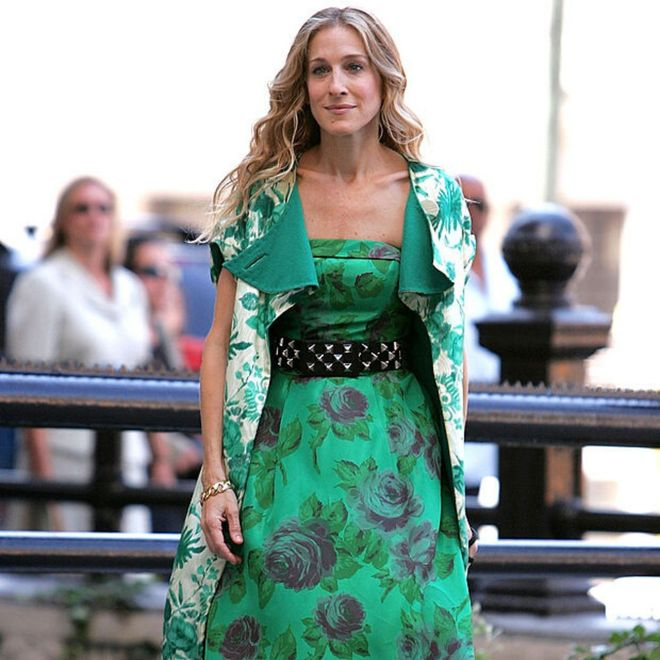 Sarah Jessica Parker in Carrie Bradshaw