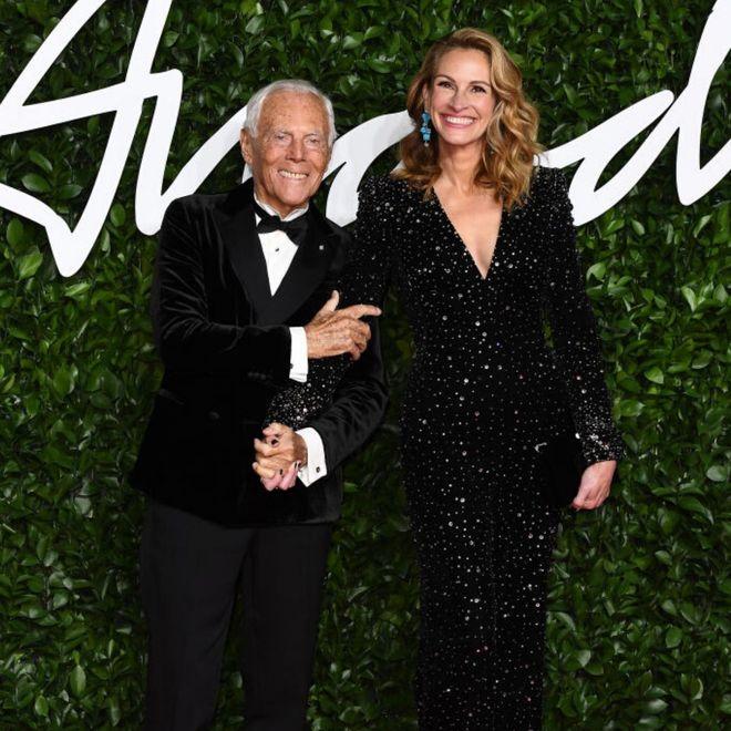 I look delle star sfoggiati ai British Fashion Awards 2019
