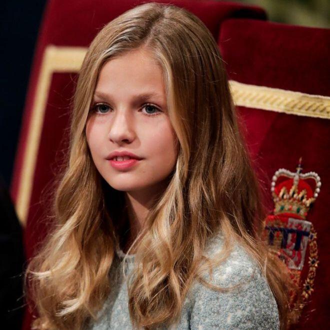 I teenager delle Famiglie Reali europee: Leonor di Spagna