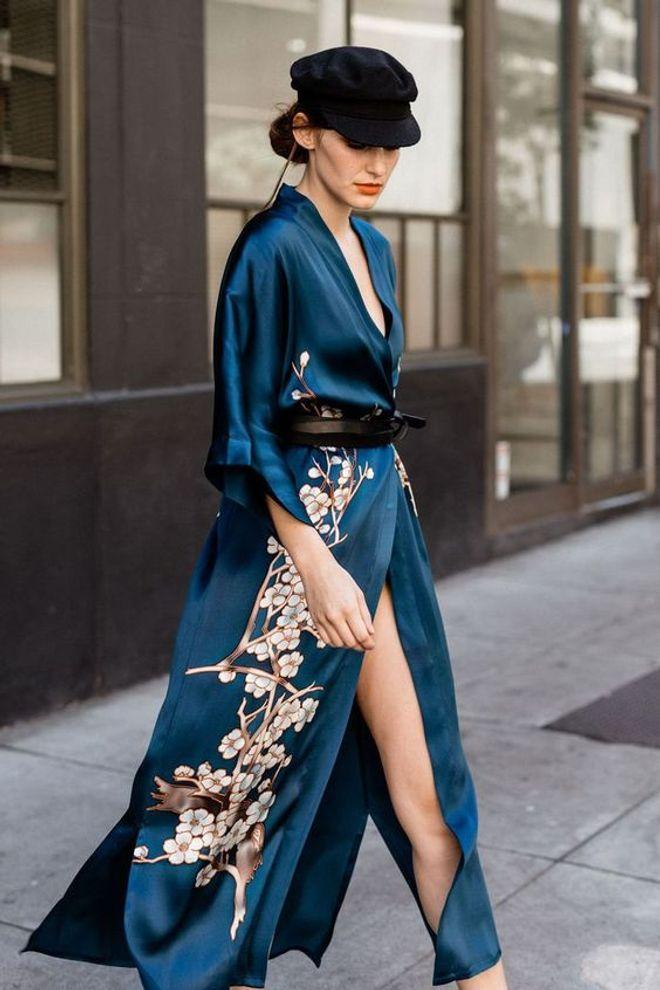 Inspírate con estas ideas de kimono y la forma de llevarlos, ¡es una prenda estrella!