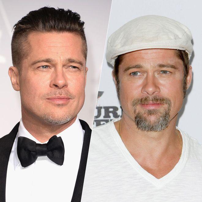 Stars mit und ohne Bart - was steht ihnen besser?