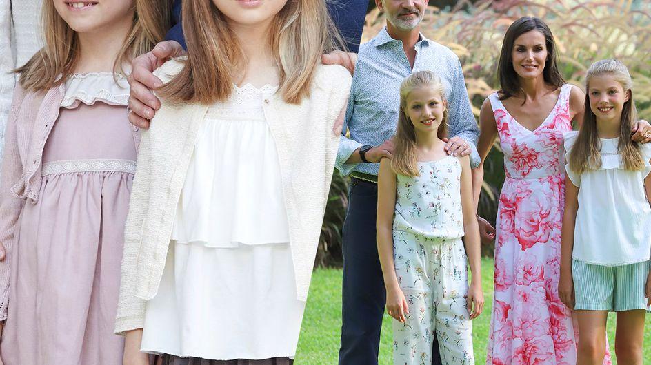 Retour sur l'évolution des enfants de la famille royale d'Espagne