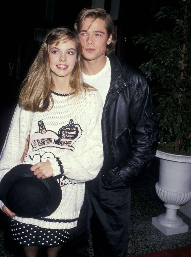 Brad Pitt und  seine 1. öffentliche Liebe: Shalane McCall