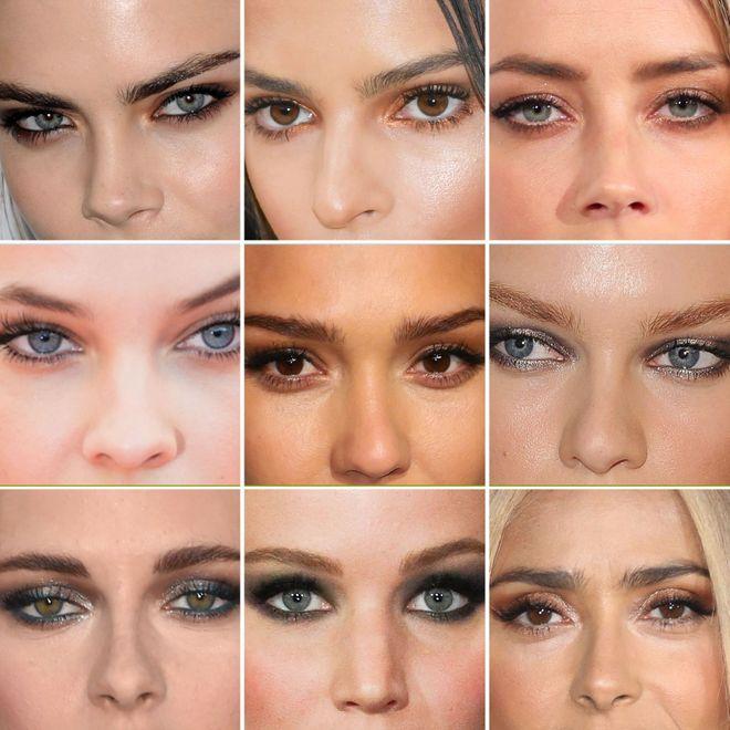 ¿Se encuentra tu mirada entre la de estas celebrities?