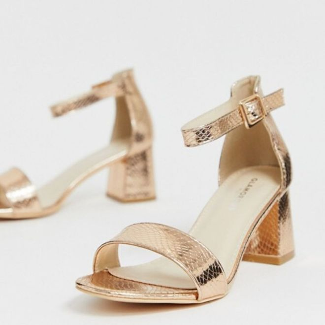 Sandalo oro Glamorous