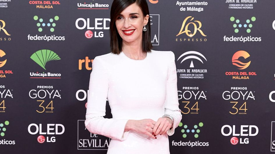 El blanco arrasa en la alfombra roja de los Goya 2020