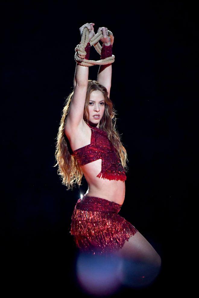 Así ha evolucionado Shakira en 20 años