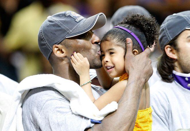 Kobe Bryant y Gianna