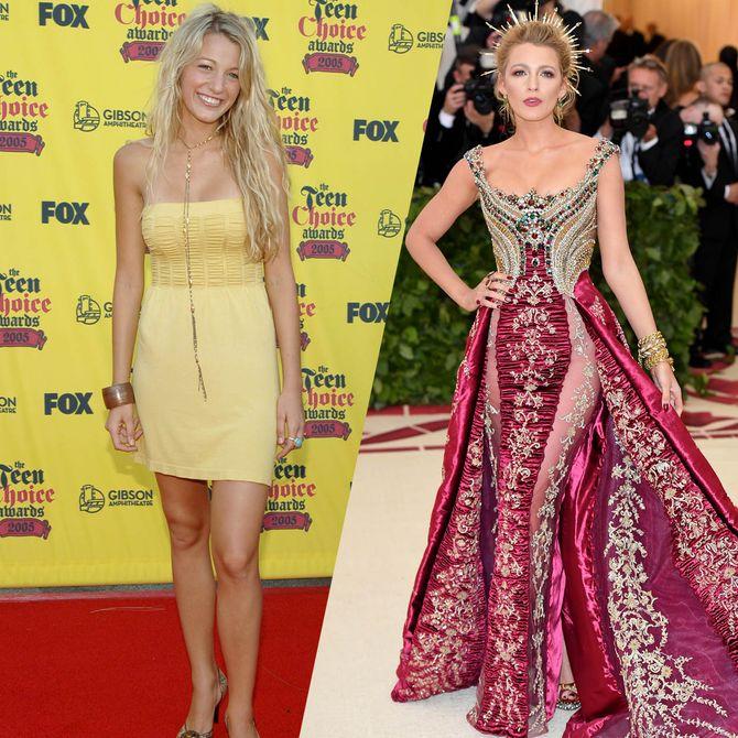 Les stars : avant / après