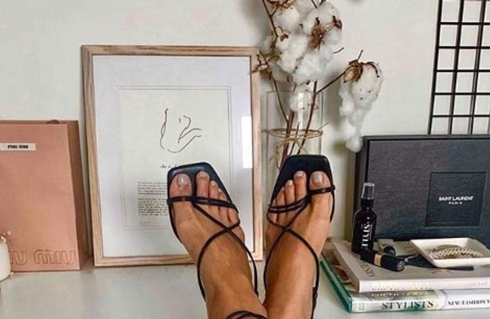 Coup de coeur mode : les sandales à bout carré