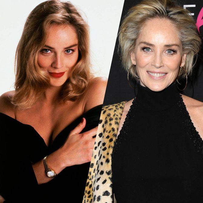 La gran evolución de Sharon en 4 décadas