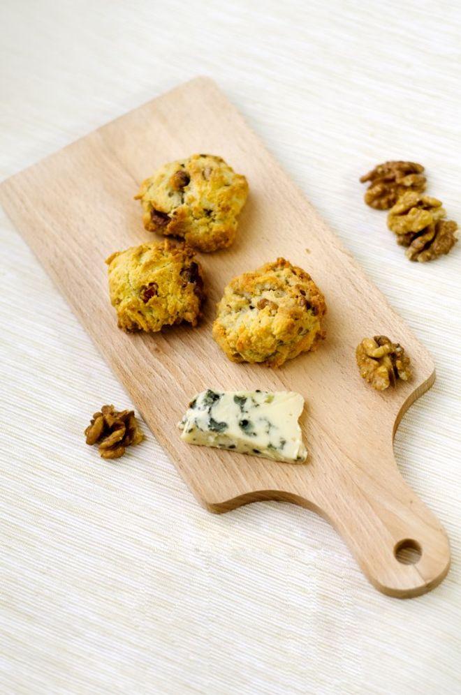 Cookies salés au roquefort