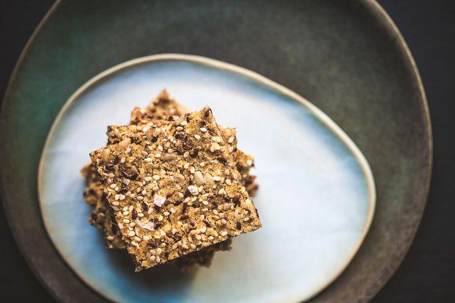 Des crackers aux graines de lin