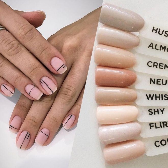 30 nuances de nude sur vos ongles