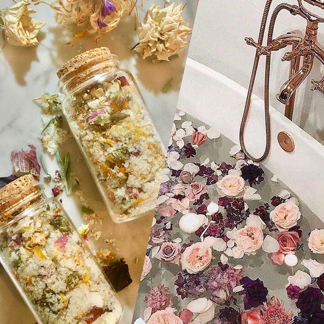 Et si on s'offrait un bain de fleurs ?