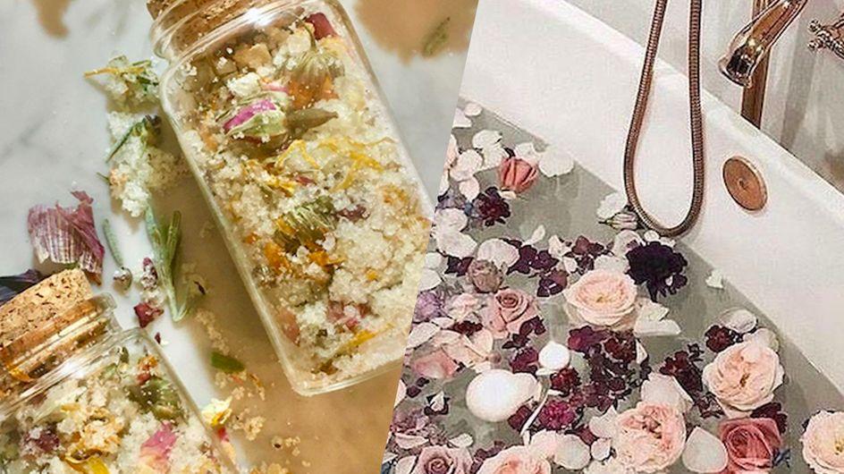 Et si on s'offrait tous les bienfaits d'un bain de fleurs ?
