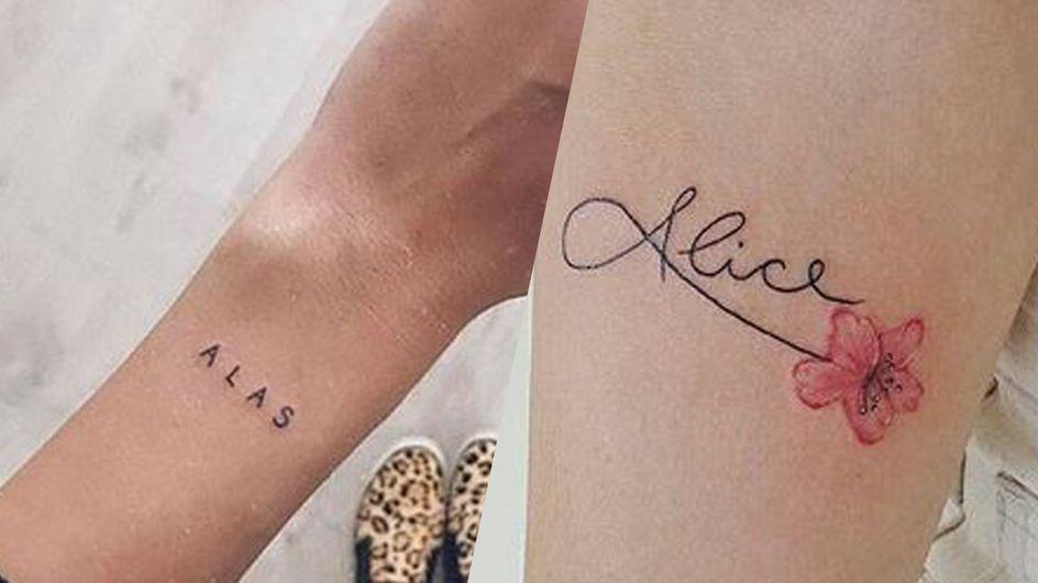 Les plus jolies idées de tatouage pour graver un prénom
